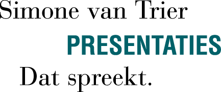 Simone van Trier Presentaties Dat Spreekt